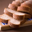 Sliced whole wheat bread — Stock Photo