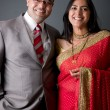 East Indian Couple — Stockfoto