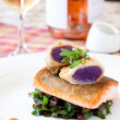 Crispy Seared Creemore Rainbow Trout — Stock Photo