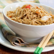 Teriyaki Sesame Noodles — Stock Photo