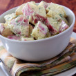 Stock Photo: Red Dijon Potato Salad