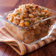 Spicy Rice and Beans Salad — Stock Photo