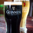Stock Photo: Guinness and Alexander Keith's
