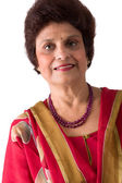Elderly East Indian Lady — Stock Photo