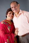 Elderly East Indian Couple — Stock Photo