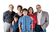 Extended Indian Family — Stock Photo
