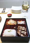 Korean Food - Pento Box — Stock Photo