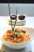 Shrimp Pad Thai — Stock Photo