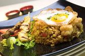 Indonesian Fried Rice — Stock Photo