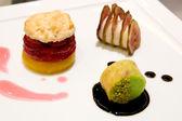 Three Desserts — Stock Photo