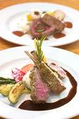 Crusted Lamb Chops — Stock Photo