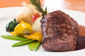 Grilled Beef Steaks — Stock Photo