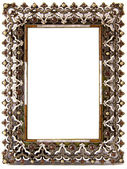 Beautifully decorated blank frame — Stock Photo