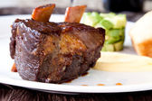 Braised Cumbrae's Short Rib — Stock Photo