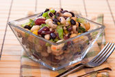 Assorted Bean Salad — Stock Photo
