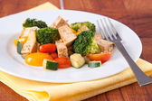 Vegan Tofu Meal — Stock Photo