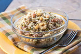 Vegan Sunflower Couscous Salad — Stock Photo