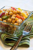 Chick peas salad — Stock Photo