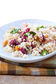 Vegan Salad - Cranberry Date Crunch — Stock Photo