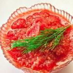 Tomato sauce — Stock Photo