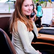 Foto de Stock  : Office worker