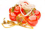 Tinned tomatoes cherry — Stockfoto