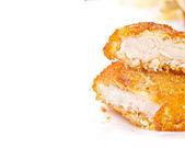 Bryłka kurczaka — Zdjęcie stockowe
