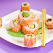 Makisushi rolls — Stock Photo
