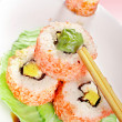 Stock Photo: Makisushi rolls