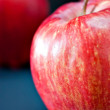 Red fresh apples — Foto Stock
