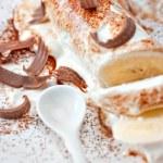 Ice-cream desert — Stock Photo