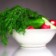 Fresh Vegetable set — Stockfoto