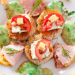 Canapes — Stock Photo #7840370