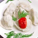 Meat dumplings — Stock Photo
