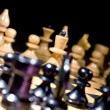 Chess figures — 图库照片