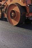 Asphalting road — Stock Photo