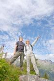Alpy chamonix — Zdjęcie stockowe
