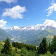 alps chamonix — Stock Photo