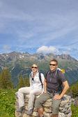 Alpes chamonix — Foto de Stock