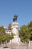 Monument to King Saint Ferdinand — Стоковое фото