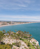 View of Costa del Azahar (Orange Blossom Coast) — Stock Photo