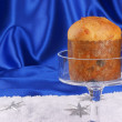 Typical italiChristmas Panettone — Stock Photo #7620768
