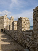 Ancient battlements — Stock Photo