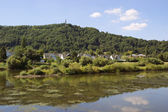 Moselle river in Trier — Stock Photo