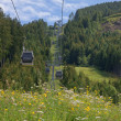 Cableway in italiAlps — Stock Photo #7723046