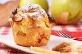Apple muffin — Stock Photo