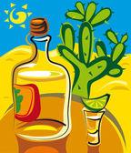 Tequila — Stock Vector