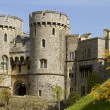 Windsor Castle Battlements — Stock Photo