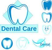 Dentystycznych wektor wzorów — Wektor stockowy
