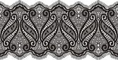 Embroidered lace design — Stock Vector